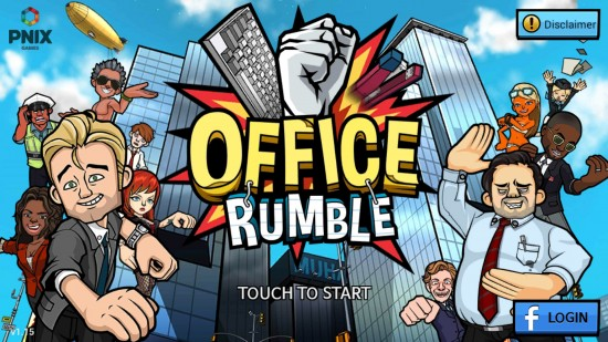 Office Rumble – brawl the office in this zany addictive game