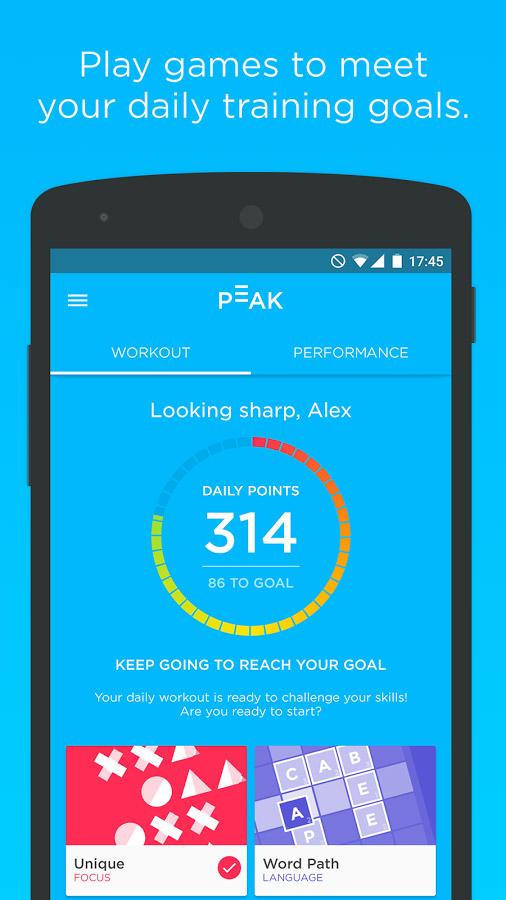 Peak – Brain Training