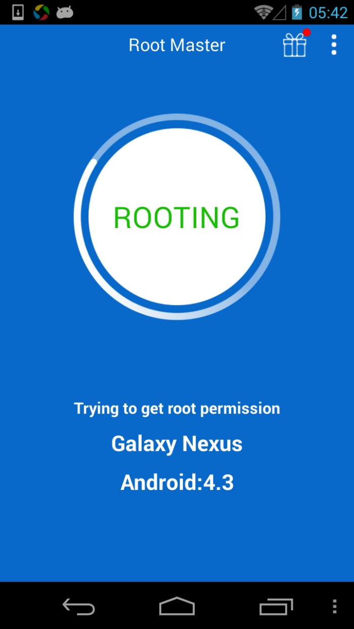 Root Master – one click Android root app