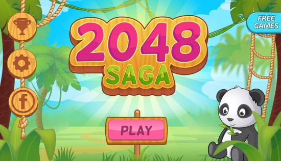 Saga 2048: Free Puzzle