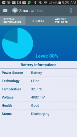 Smart Utilities - Battery Information