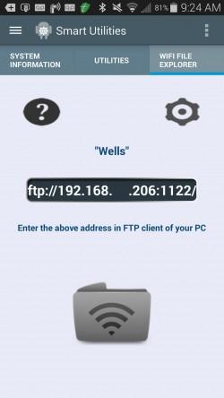 Smart Utilities - Wifi File Transfer