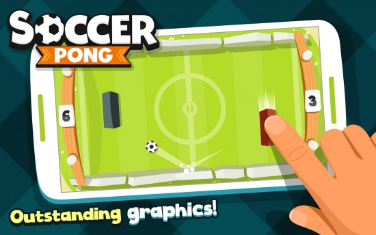 Soccer Pong – play new & improved version of classic ping pong