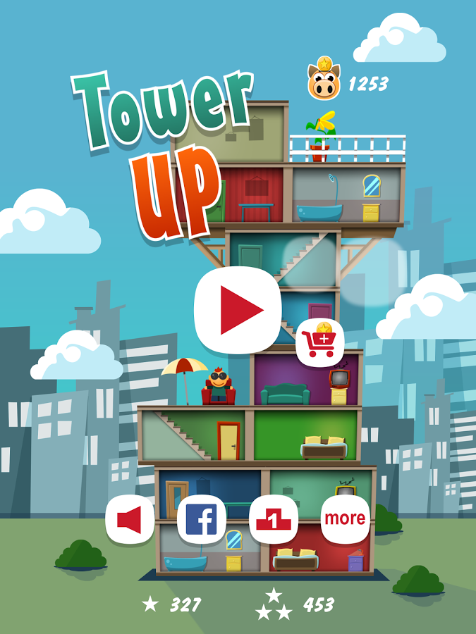 Tower UP – how high can you build?