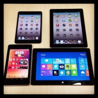 Various Tablet Devices