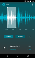 AudioField MP3 Voice Recorder 3