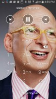 Audvisor - On Lock Screen