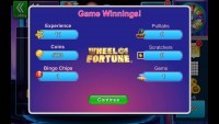 Bingo Bash - Game Winnings