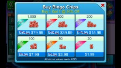Bingo Bash - In-App Purchases