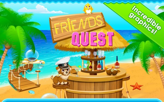 Friends Quest – play to conquest sea adventures