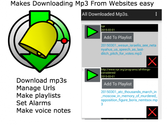 MP3 Website Scanner plus alarm
