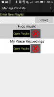 MP3 Website Scanner plus alarm - Playlist