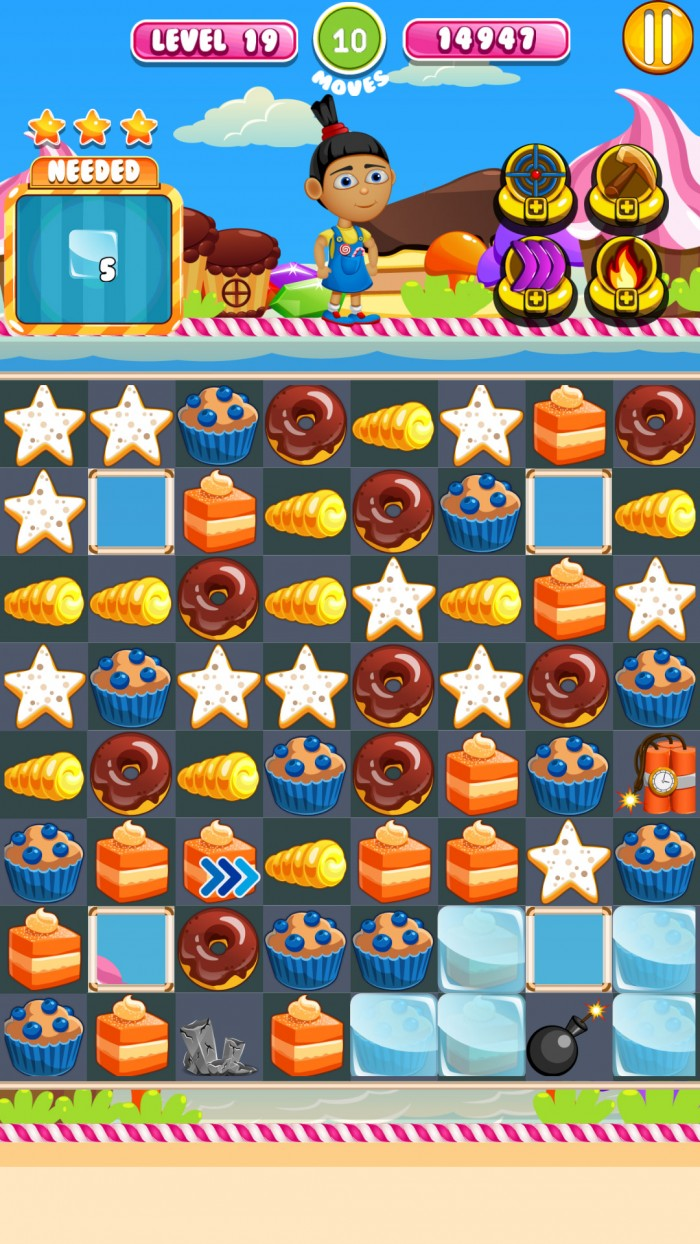 Muffin Quest – play deliciously addictive match 3 game