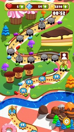 Muffin Quest - Levels