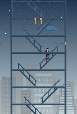 Rokketboard - Night on Stair