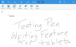WPS Office plus PDF - Pen Writing Feature for Tablets