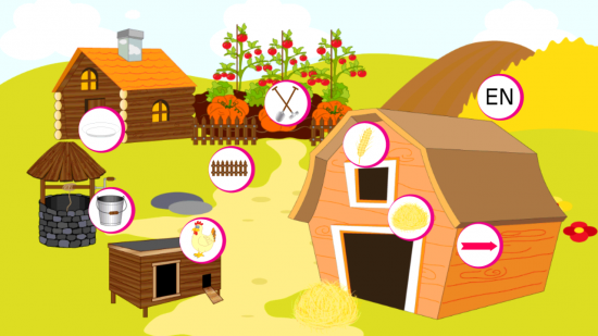 Animals Farm For Kids – an intellectual development game for young children