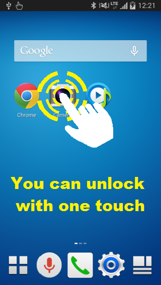 CustomTouch – tool to prevent such mis-touch on screen