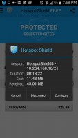 Hotspot Shield VPN Proxy WiFi - Data Monitor