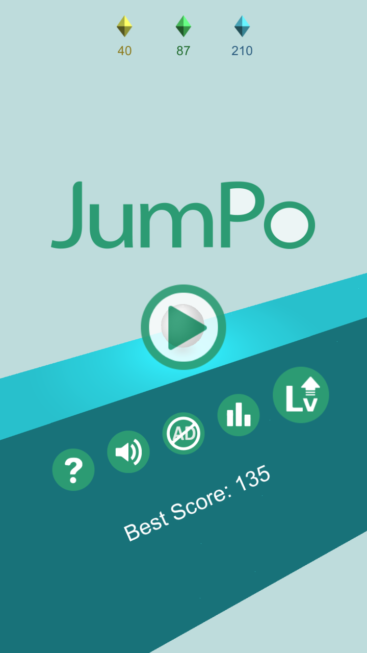 JumPo – 3D Jump Ball Game