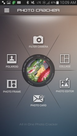 Photocracker - Start Screen