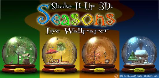 Shake It Up 3D: Seasons LWP