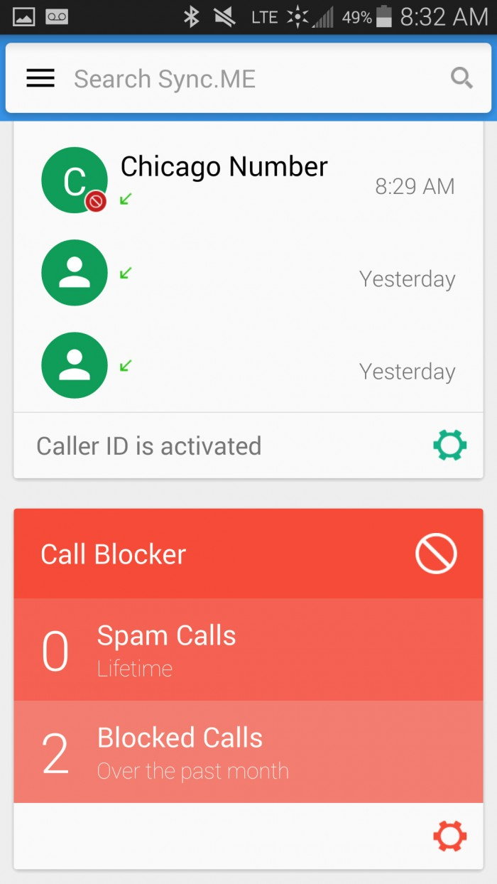 Sync.ME – Caller ID & Block