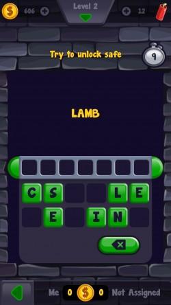 Words 4 Diamonds - Gameplay 3