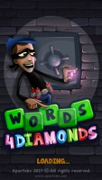 Words 4 Diamonds - Splash Screen