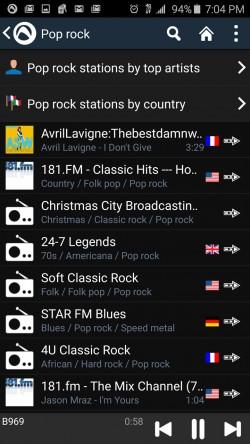 Audials Radio - Pop Stations