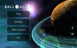 Ball Alien - Start Screen