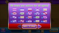 Bonus Slots - Winnings Table