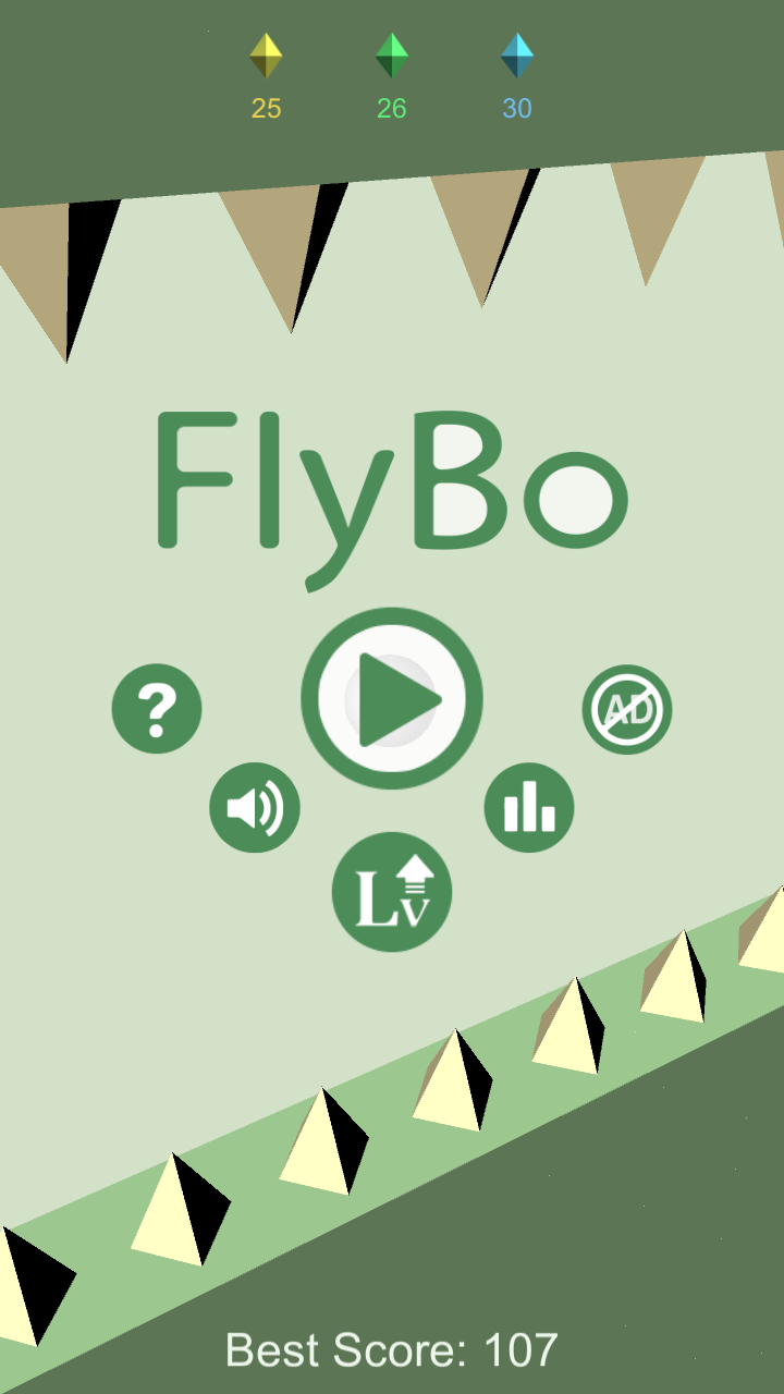 FlyBo – 3D Fly Ball Game