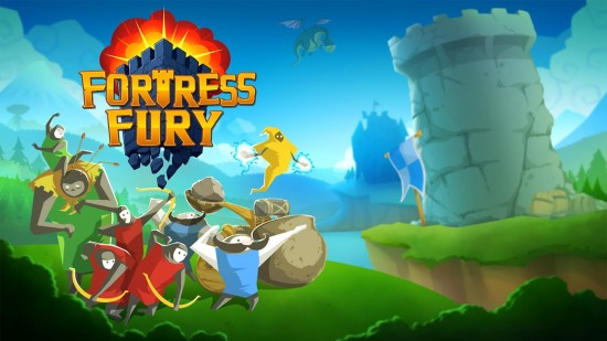 Fortress Fury – strategy game to construct your fort & destroy your enemy's fortress