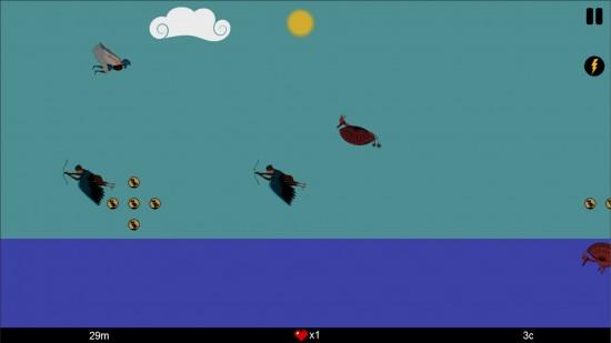Icarus – Flappy game plus guns & enemies