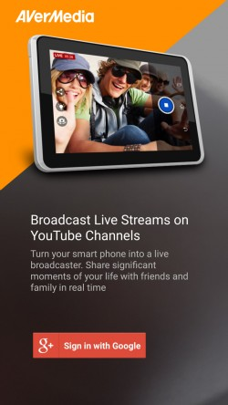 Live in Five - Start Screen
