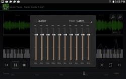 MusicTrans - Equalizer