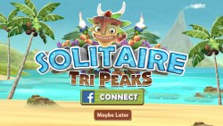 Solitaire TriPeaks - Splash Screen