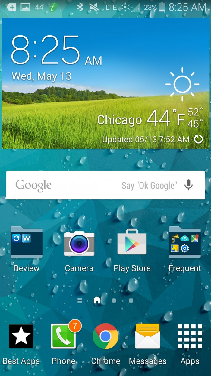 Weatherback Wallpaper – personalize background with forecasts
