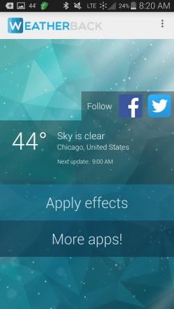 Weatherback Wallpaper - Sample Weather (5)