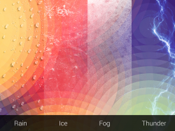 Weatherback Wallpaper - Weather Graphics