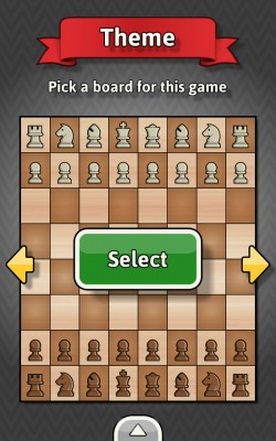 Chess For Everyone - Choose Board Theme