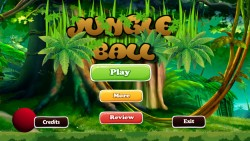 Jungle Ball - Start Screen