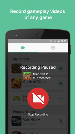 Kamcord Game Screen Recorder 1