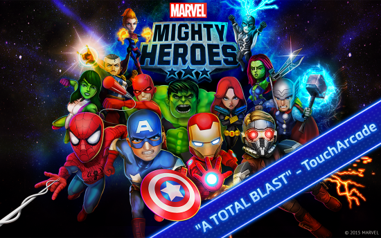 Marvel Mighty Heroes – avenge the universe & play real-time online with friends