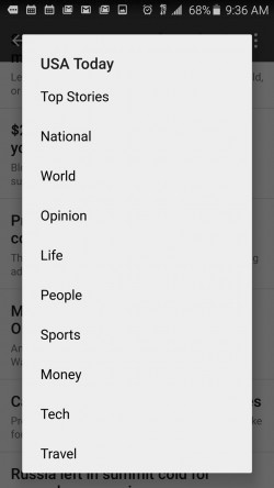 News Kit - Choose News Sections