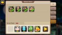 Rush of Heroes - Hero Selection