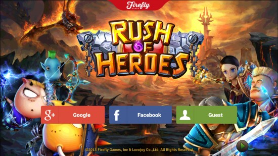 Rush of Heroes – ultimate action RPG experience