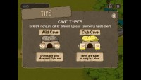 Save the Cave Tower Defense - Cave Types