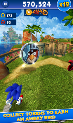 Sonic Dash Angry Birds 1